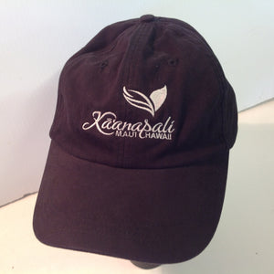 Vintage Ahead Casuals Classic Cut Kaanapali Golf Course Maui Hawaii Tournament Souvenir Black Baseball Cap