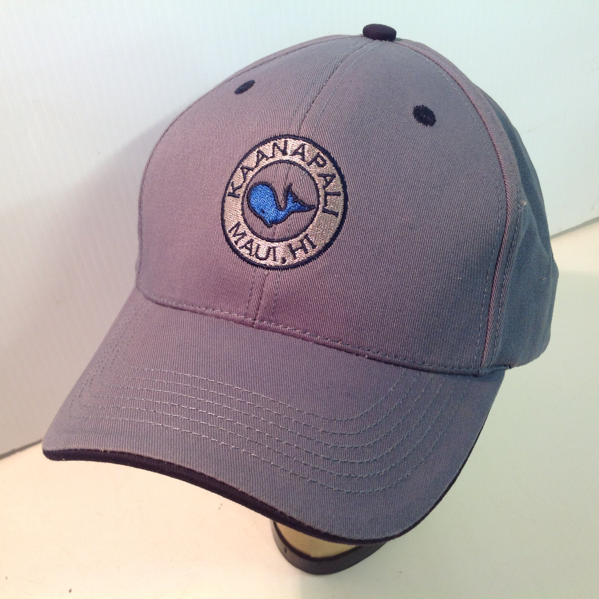 Vintage Texace PRO 98 Authentic Kaanapali Golf Course Lahaina Maui Hawaii Tournament Souvenir Blue-Grey Baseball Cap