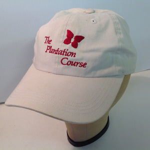 Vintage Ahead Special Edition Classic Cut Kapalua Plantation Golf Course Lahaina Maui Hawaii Tournament Souvenir White Sand Baseball Cap