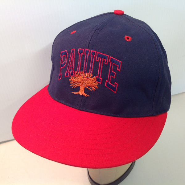Vintage Texace Paiute Resort and Golf Course Las Vegas Nevada Tournament Souvenir Blue and Red Baseball Cap