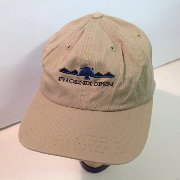 Vintage Tournament Players Club Scottsdale Arizona Phoenix Open Golf Tournament Souvenir Tan Baseball Cap