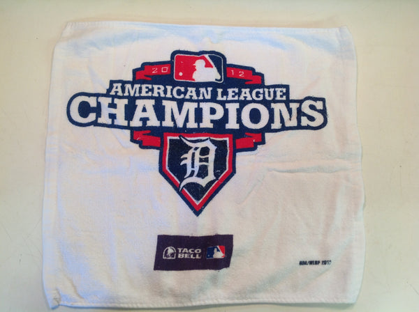 Vintage Detroit Tigers American League Champions Taco Bell Commemorative Washcloth