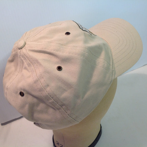 Vintage Legendary Headwear Tiburon Naples Golf Club Florida Tournament Souvenir Tan Baseball Cap