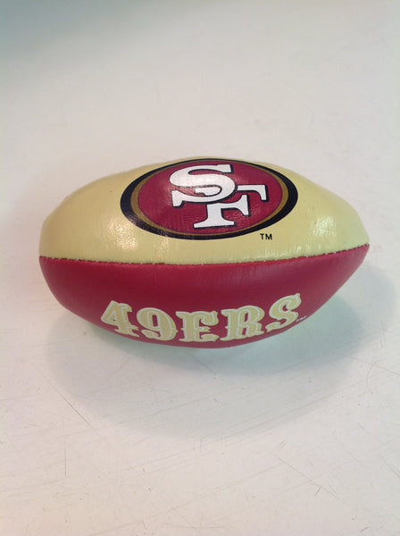 Vintage 1997 San Francisco 49ers Football Hackey Sack Kick Ball NFL