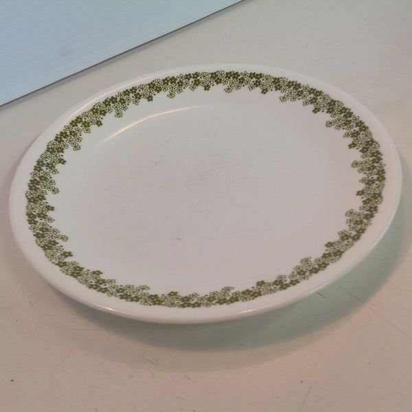 Vintage Corelle Pyrex Spring Blossom Crazy Daisy Pattern Salad Plate