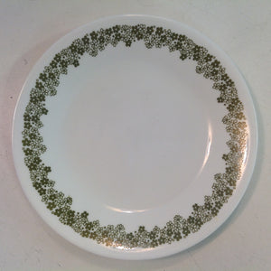 Vintage Corelle Pyrex Spring Blossom Crazy Daisy Patterned Dessert Plate