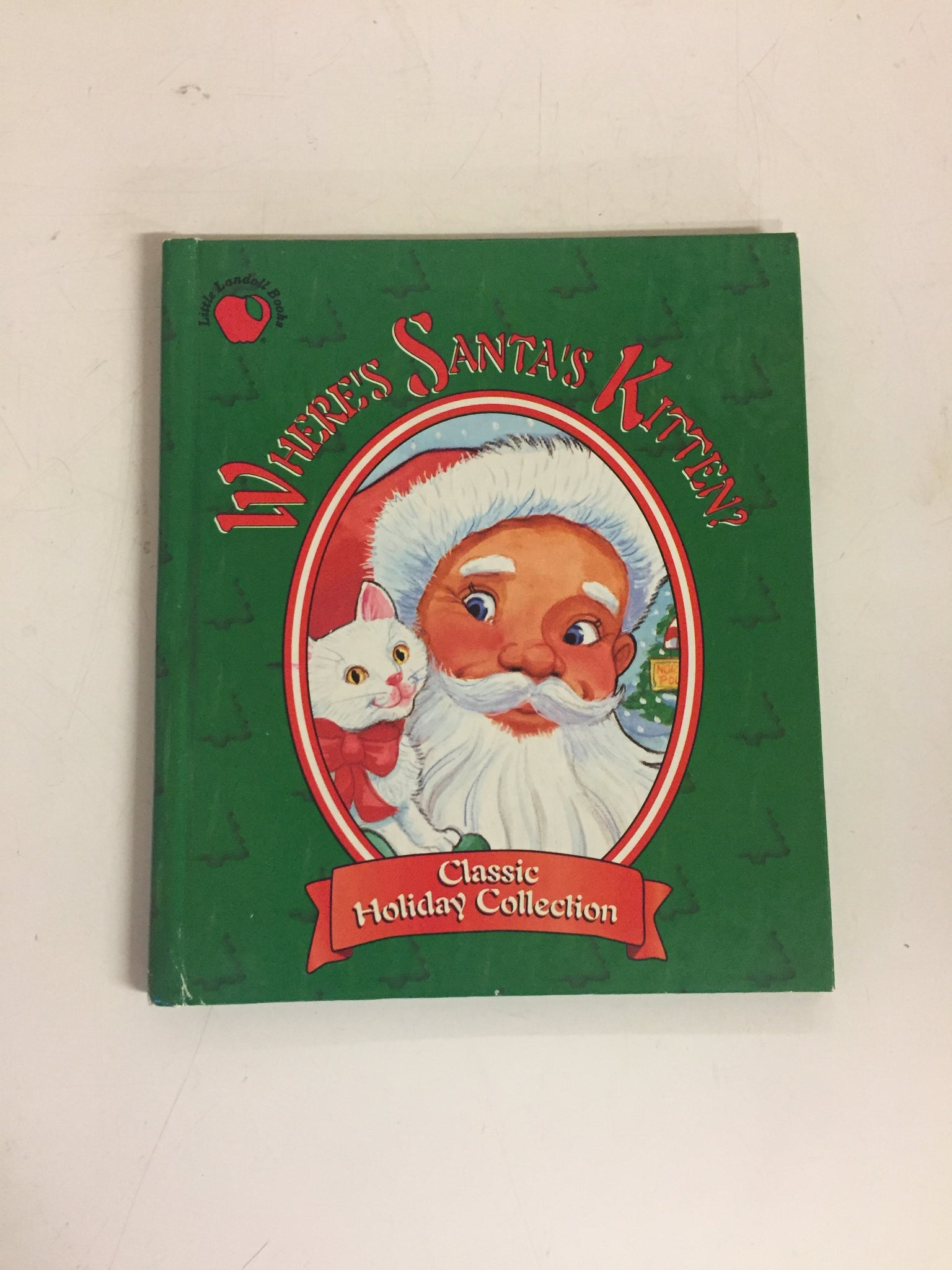 Copy of Vintage 1997 Where's Santa's Kitten? Book Classic Holiday Edition