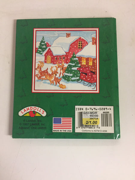 Vintage 1997 Where's Santa's Kitten? Book Classic Holiday Edition