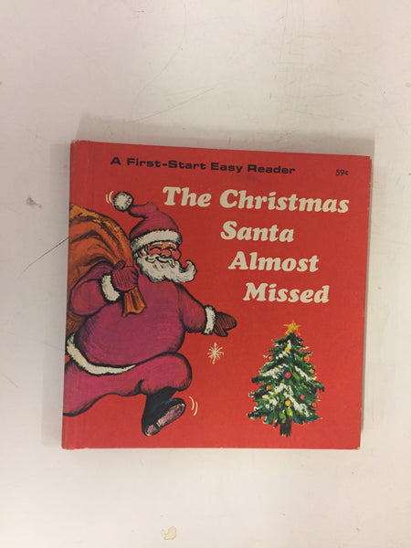 Vintage 1970 The Christmas Santa Almost Missed Book Troll