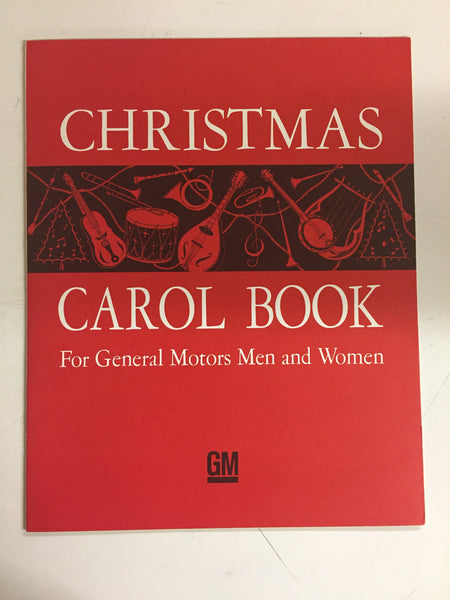 Vintage 1965 Christmas Carol Sheet Music Booklet GM Men & Women