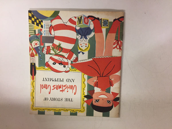 Vintage 1965 Story Of Christmas Carol And The Bright Star Booklet JL Hudson's Co.