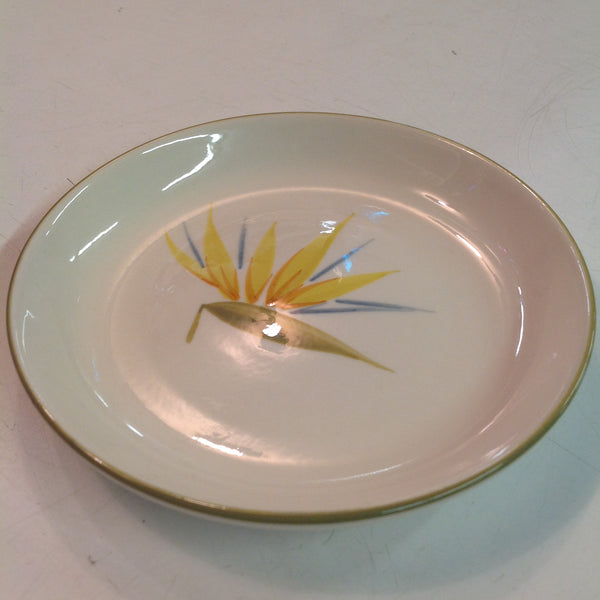 Vintage Handcrafted Winfield China Bird of Paradise Patterned Bread Plate