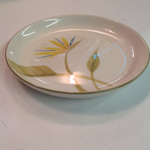Vintage Handcrafted Winfield China Bird of Paradise Patterned Salad Plate