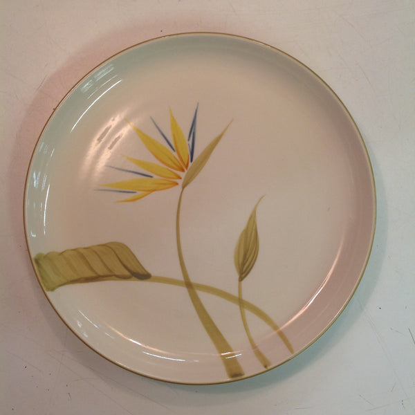 Vintage Handcrafted China Winfield Bird of Paradise Patterned Dinner Plate