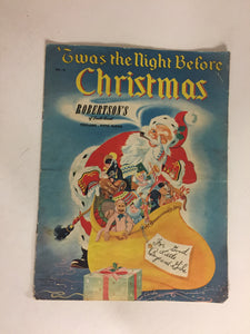 Vintage 1950 Robertson's/Samuel Lowe Twas the Night Before Christmas Illustrated Treasury