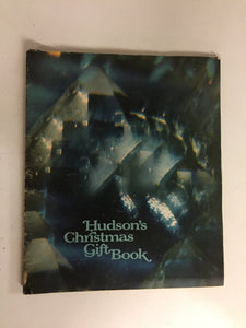 Vintage 1968 Hudson's Christmas Gift Book Catalog Detroit Department Store