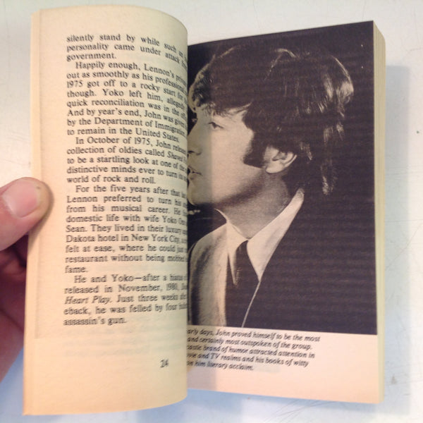Vintage Tower Books John Lennon and the Beatles Forever Mass Market Paperback