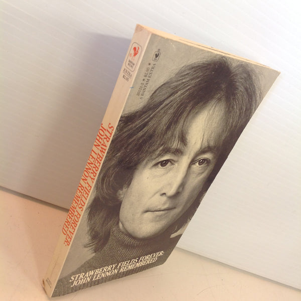 Vintage 1980 Bantam Books Strawberry Fields Forever: John Lennon Remembered Paperback Book