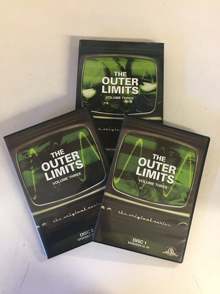 Vintage Outer Limits The Original Series DVD Collection Volume Three