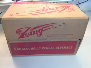 Vintage Zing Nonalcoholic Cereal Beverage 24 Count 12 Oz Bottle Case