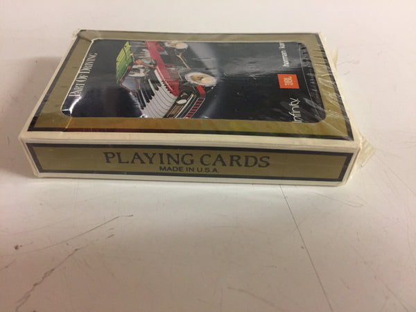 Vintage Advertising Playing Cards Herman/Kardon Infinity JBL Sealed NOS