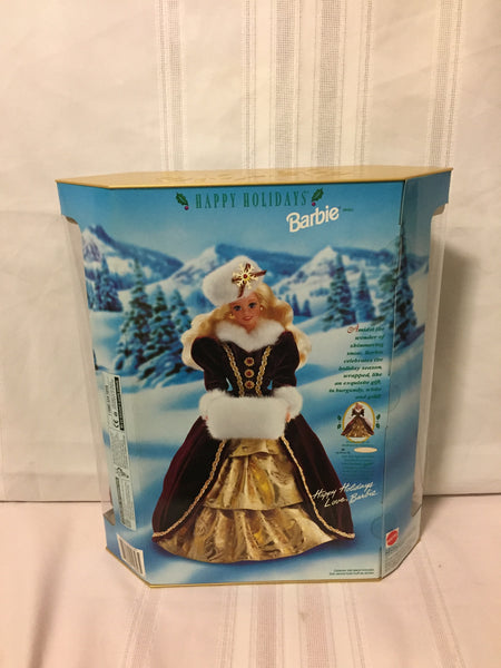 Vintage 1996 Special Edition Happy Holidays Barbie #15646 Mattel NRB