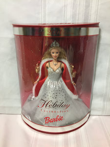 Special Edition 2001 Holiday Celebration Barbie #50304 Hallmark Mattel NRB