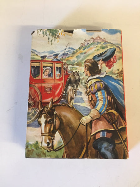 Vintage 1945 The Three Musketeers Hardcover Book W/ Dust Jacket Alexander Dumas