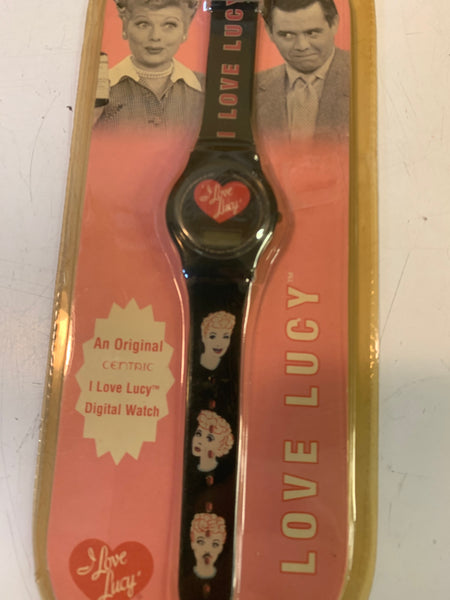 Cool 2005 I Love Lucy Digital Watch NOS Sealed Centric