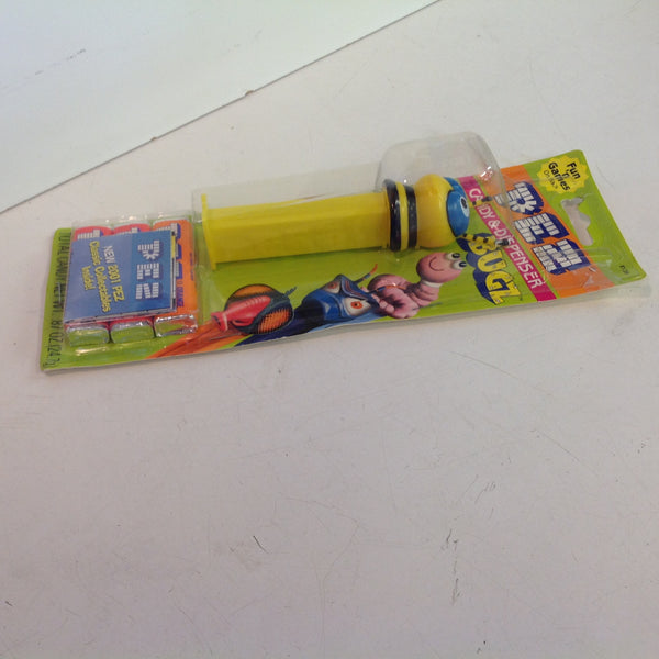Vintage 1990's Pez Candy Dispenser w/Original Packaging BUGZ Bumblebee