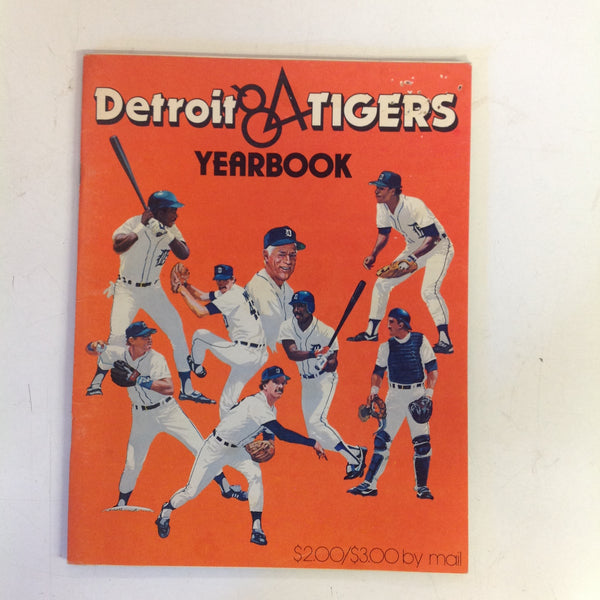 Vintage Official 1984 Detroit Tigers Yearbook
