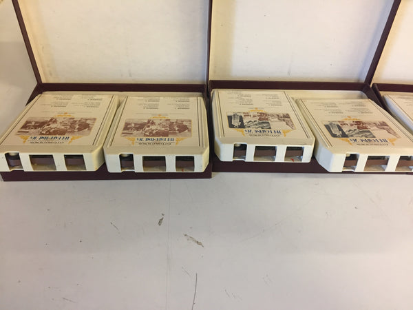 Vintage 1970's OUR CENTURY IN MUSIC 8-Track Sets 3 Sets in Lot