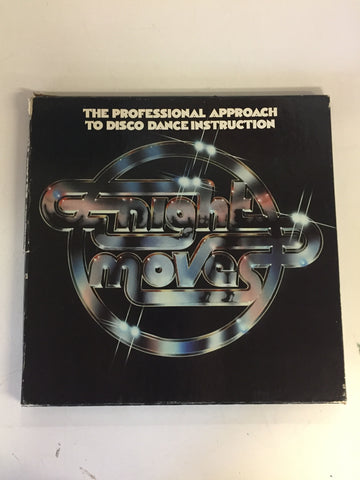 Vintage 1979 Night Moves Album Professional Approach To Disco Dance Instruction Record.