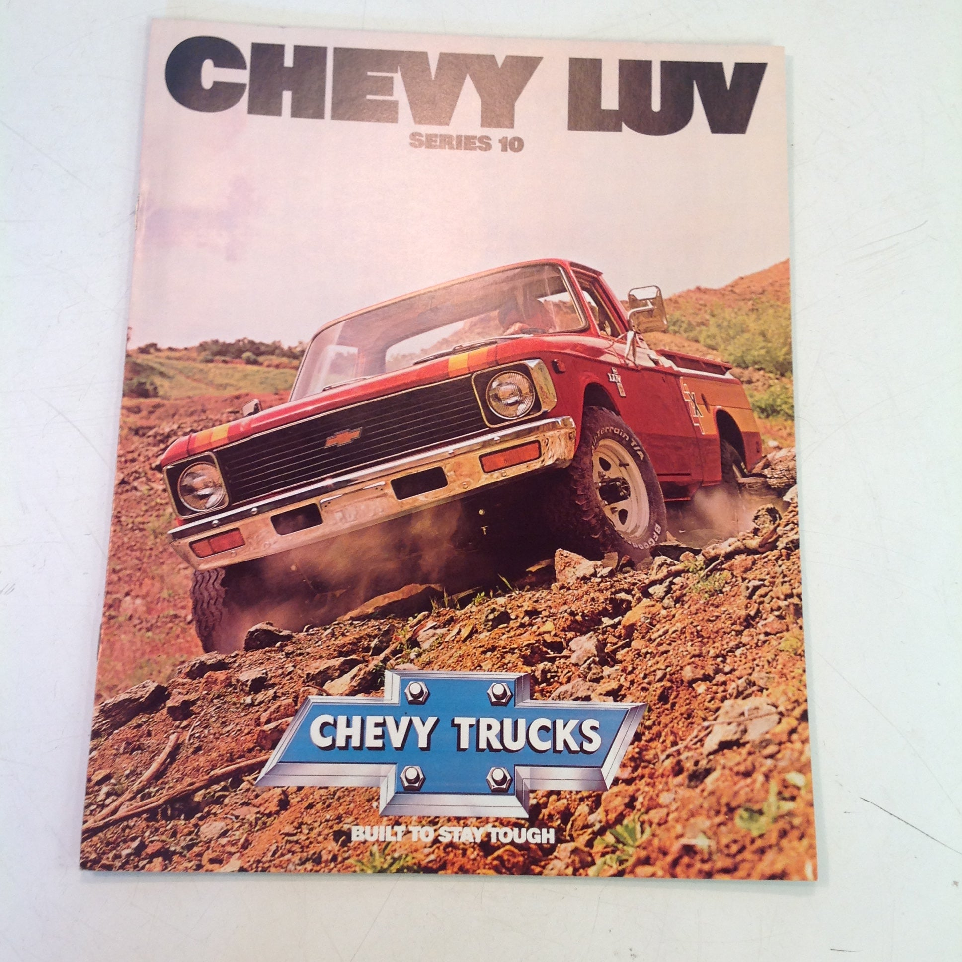Vintage 1979 Chevrolet CHEVY LUV Series 10 Truck Informational Sales Brochure