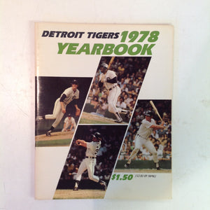 Vintage Official 1978 Detroit Tigers Yearbook