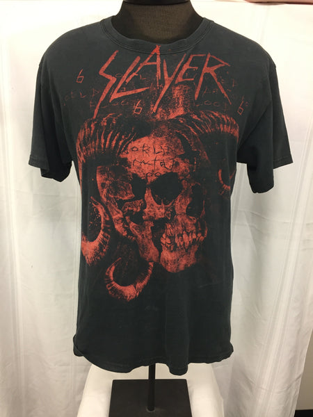 Cool 2010 SLAYER American Carnage Concert Shirt 666 Hard Rock
