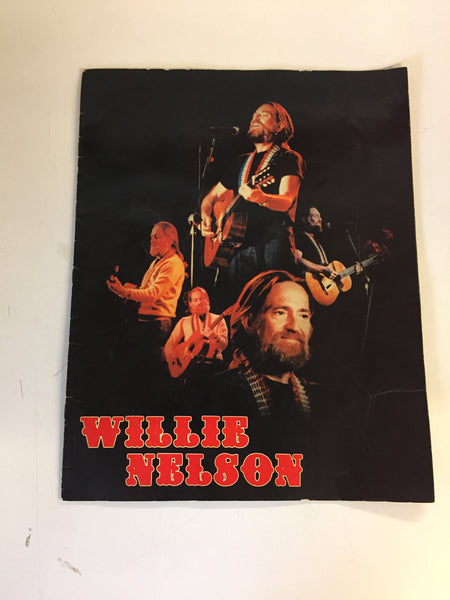 Vintage WILLIE NELSON Concert Program The Great Texas Brain Fry Country Music