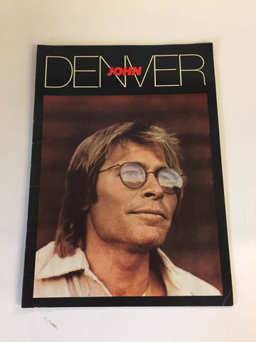 Vintage JOHN DENVER The Windstar Project Photo Program Environmental Music