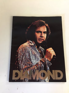 neil diamond at the la forum 1983 souvenir program