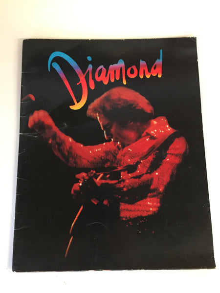 Vintage 1980 NEIL DIAMOND The Jazz Singer Live Concert Program Pantages Theater LA