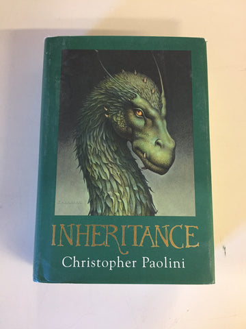 2011 INHERITANCE By Christopher Paolini Book 4 of The ELDEST Series