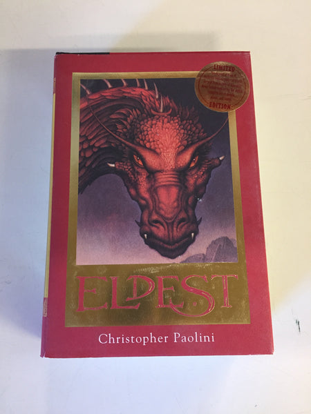 2006 ELDEST Limited Edition By Christopher Paolini Book 1 of The ELDEST Series