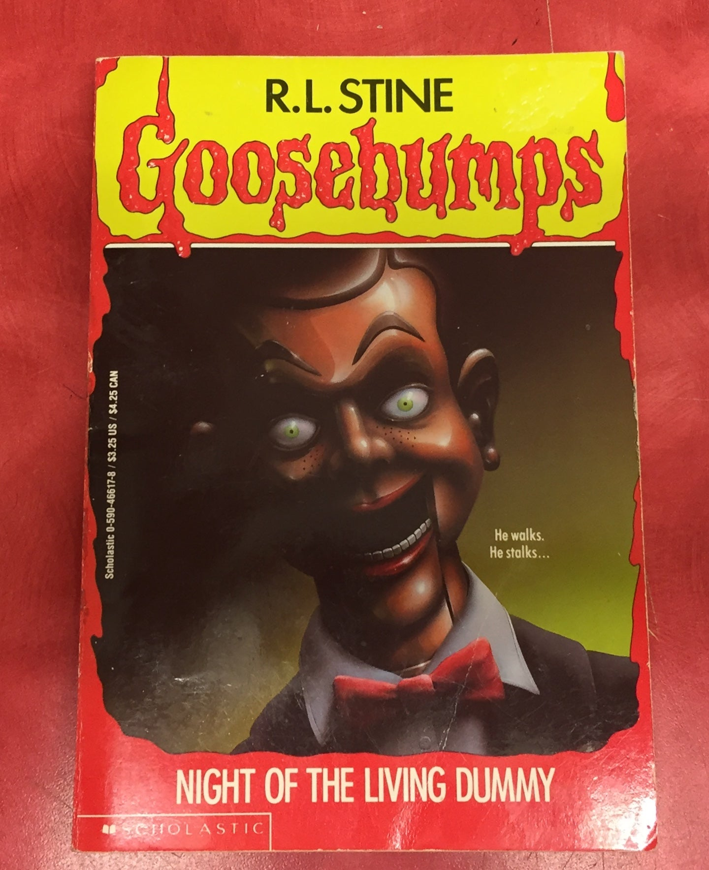 Goosebumps R. L. Stine Scary Book Issue 7