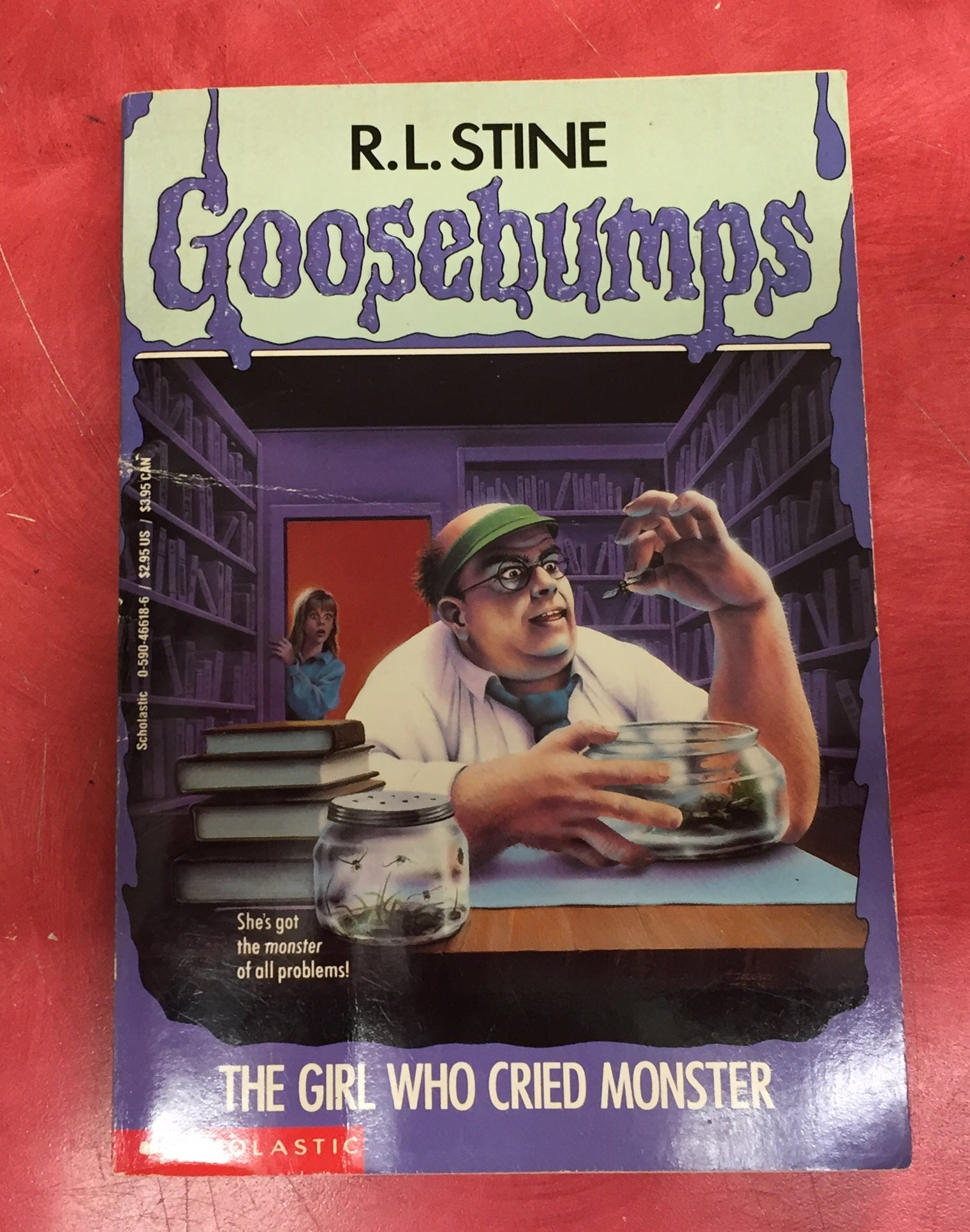 Goosebumps R. L. Stine Scary Book Issue 8