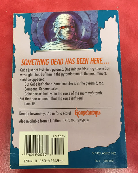 Goosebumps R. L. Stine Scary Book Issue 5