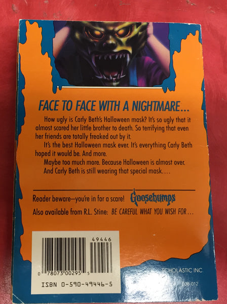 Goosebumps R. L. Stine Scary Book Issue 11