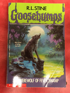 Goosebumps R. L. Stine The Werewolf of fever swamp
