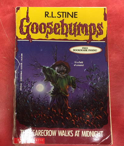 Goosebumps R. L. Stine The Scarecrow walks at night