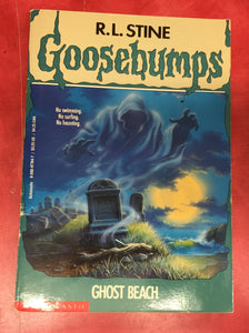 Goosebumps R. L. Stine Ghost Beach Issue 22