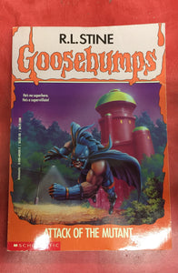 Goosebumps R. L. Stine Attack of the mutant Issue 25